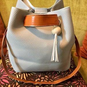 Classic Gray Pebble Hobo Handbag